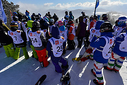 Behind the scenes, Snowboarder Cross at the 2016 IPC Snowboard Europa Cup Finals and World Cup