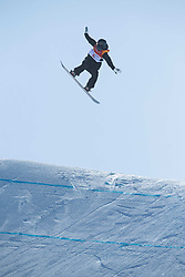 February 12, 2018 - Pyeongchang, South Korea - ENNI RUKAJARVI of Finland on her bronze medal winning run in the Womens Snowboard Slopestyle finals at Phoenix Snow Park at the Pyeongchang Winter Olympic Games.  Photo by Mark Reis, ZUMA Press/The Gazette (Credit Image: © Mark Reis via ZUMA Wire)