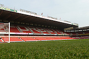 Forest's Brian Clough stand ahead of the Sky Bet Championship match between Nottingham Forest and Sheffield Wednesday at the City Ground, Nottingham, England on 12 March 2016. Photo by Jon Hobley.