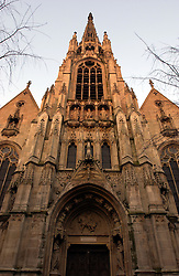 LILLE , FRANCE - FEB-22-2003 - Lille , France has been named the 2004 European Capital of Culture. St. Maurice Church. (PHOTO © JOCK FISTICK)..