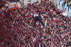 26.01.2020, Wielka Krokiew, Zakopane, POL, FIS Weltcup Skisprung, Zakopane, Herren, Wertungsdurchgang, im Bild Pius Paschke (GER) // Pius Paschke (GER) during his competition jump of FIS Ski Jumping world cup at the Wielka Krokiew in Zakopane, Poland on 2020/01/26. EXPA Pictures © 2020, PhotoCredit: EXPA/ Tadeusz Mieczynski