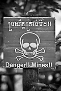Once they got money from America and England, they buried countless landmines. Many of land mines in Cambodia are supposed to be buried at that time.