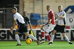 Bristol City's James Tavernier plays a pass - Photo mandatory by-line: Dougie Allward/JMP - Mobile: 07966 386802 - 10/02/2015 - SPORT - Football - Bristol - Ashton Gate - Bristol City v Port Vale - Sky Bet League One