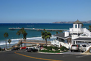 T-Street And San Clemente Pier Orange County California