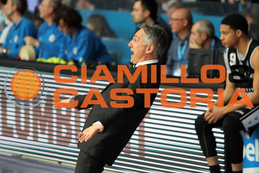 DESCRIZIONE: Cantu' Lega A 2015-16 <br /> Acqua Vitasnella Cantu' vs Obiettivo Lavoro Virtus Bologna<br /> GIOCATORE: Giorgio Valli<br /> CATEGORIA: coach allenatore<br /> SQUADRA: Obiettivo Lavoro Virtus Bologna<br /> EVENTO: Campionato Lega A 2015-2016<br /> GARA: Acqua Vitasnella Cantu' Obiettivo Lavoro Virtus Bologna<br /> DATA: 17/04/2016<br /> SPORT: Pallacanestro<br /> AUTORE: Agenzia Ciamillo-Castoria/A. Ossola<br /> Galleria: Lega Basket A 2015-2016<br /> Fotonotizia: Cantu' Lega A 2014-15 <br /> Acqua Vitasnella Cantu' Obiettivo Lavoro Virtus Bologna