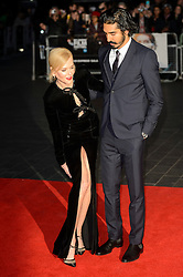 © Licensed to London News Pictures. 12/10/2016. Actor DEV PATEL and actress NICOLE KIDMAN attends the film premiere of LION as part of The London Film FestivalLondon, UK. Photo credit: Ray Tang/LNP