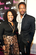 19 November-New York, NY:  (L-R) Lisa Price, Beauty products entrepreneur, Carol's Daughter and Actor Gary Dourdan attend the 4th Annual WEEN (Women in Entertainment Empowerment Network) Awards held at Helen Mills Theater on November 19, 2014 in New York City.  (Terrence Jennings)