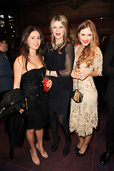 Left to right, ANNA KNAUF, SVETLANA THOMAIDEN and TEREZA SRBOVA at 'Homage to Nureyev' a tribute to the legendary ballet dancer Rudolf Nureyev performed at the ENO, London COliseum, St.Martin's Lane, London on 21st March 2010.