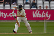 Mark Stoneman (Durham County Cricket Club) in action during the LV County Championship Div 1 match between Durham County Cricket Club and Warwickshire County Cricket Club at the Emirates Durham ICG Ground, Chester-le-Street, United Kingdom on 14 July 2015. Photo by George Ledger.