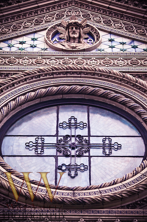 Ornate exterior church art/design