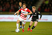 Herbie Kane of Doncaster Rovers  during the EFL Sky Bet League 1 match between Doncaster Rovers and Barnsley at the Keepmoat Stadium, Doncaster, England on 15 March 2019.