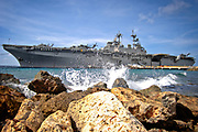 0810121-N-9620B-007 - WILLEMSTAD, Netherlands Antilles(Oct. 21, 2008) USS Kearsarge (LHD 3) visits the Netherlands Antilles for the humanitarian service project, Continuing Promise 08 (CP). Kearsarge is supporting the Caribbean phase of CP, an equal-partnership mission between the United States, Canada, the Netherlands, Brazil, Nicaragua, France, Colombia, Dominican Republic, Trinidad and Tobago and Guyana.  U.S. Navy photo by Mass Communication Specialist 2nd Class Erik C. Barker (RELEASED)