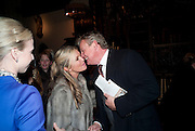 TINA HOBLEY; MARTIN CLUNES, Reception after Christmas Carol Service in aid of the Haven, Breast Cancer Support Centres. St. Paul's, Knightsbridge. London. 9 December 2010.  -DO NOT ARCHIVE-© Copyright Photograph by Dafydd Jones. 248 Clapham Rd. London SW9 0PZ. Tel 0207 820 0771. www.dafjones.com.