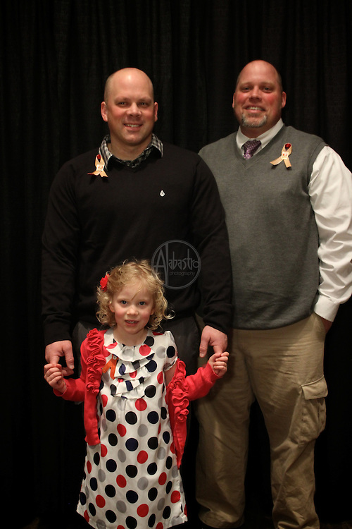 16th Annual American Red Cross Heroes Breakfast of King County - Heroes and Survivors. Heroes Eric Zender and Jason Mark with Survivor Ainsley Hewson.