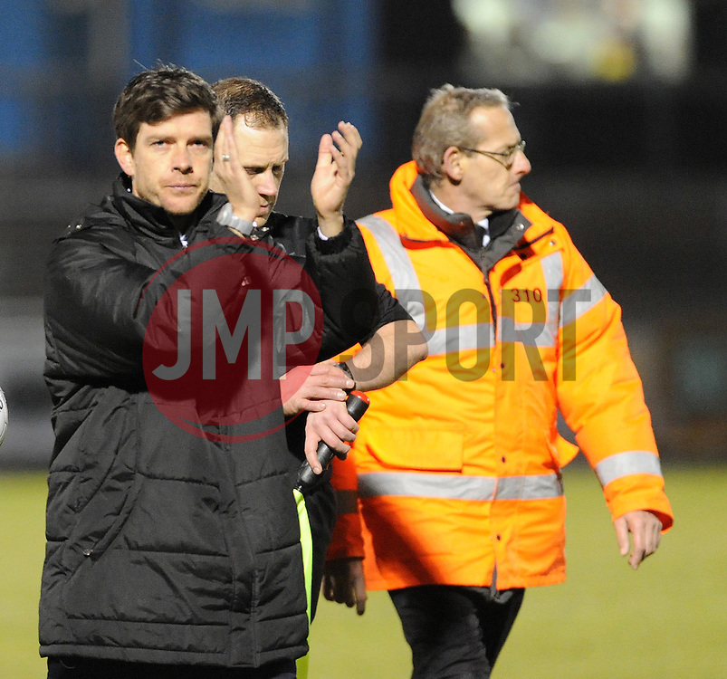 Bristol Rovers Manager, Darrell Clarke - Photo mandatory by-line: Neil Brookman/JMP - Mobile: 07966 386802 - 24/02/2015 - SPORT - Football - Bristol - Memorial Stadium - Bristol Rovers v Braintree - Vanarama Football Conference