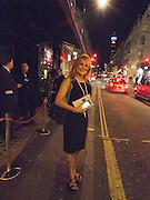 JILLY JOHNSON  My Left Boob: A Cancer Diary by Sally Farmiloe-Neville , Sally Farmiloe - book launch party, Angels, 201 Wardour Street, London, W1F 8ZH