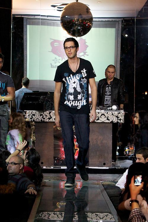 Time 2 Give Back, a fashion show benefit featuring Lucky 7 jeans at Time Supper Club.