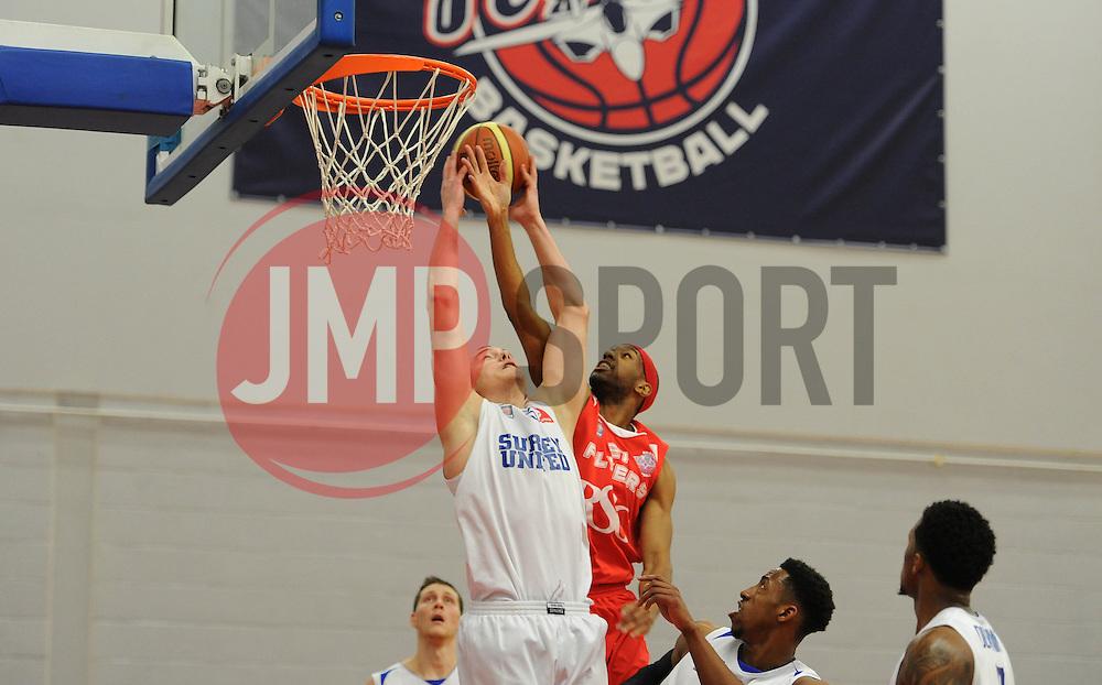 Bristol Flyers' Siman Stewart - Photo mandatory by-line: Dougie Allward/JMP - Mobile: 07966 386802 - 13/02/2015 - SPORT - Basketball - Bristol - SGS Wise Campus - Bristol Flyers v Surrey United - British Basketball League