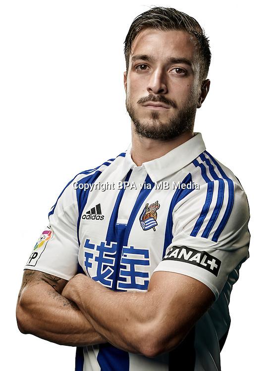 Spain - Liga BBVA 2015-2016 / <br /> ( Real Sociedad de Futbol ) - <br /> Hector Hernandez Ortega