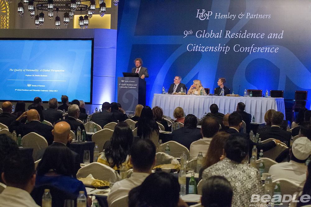 Henley & Partners hosted their 9th Global Residence and Citizenship Conference in Dubai from the 1st to the 3rd of November. Image by Greg Beadle