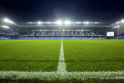 LIVERPOOL, ENGLAND - Tuesday, October 27, 2015: A general view of Everton's Goodison Park before the Football League Cup 4th Round match against Norwich City. (Pic by David Rawcliffe/Propaganda)
