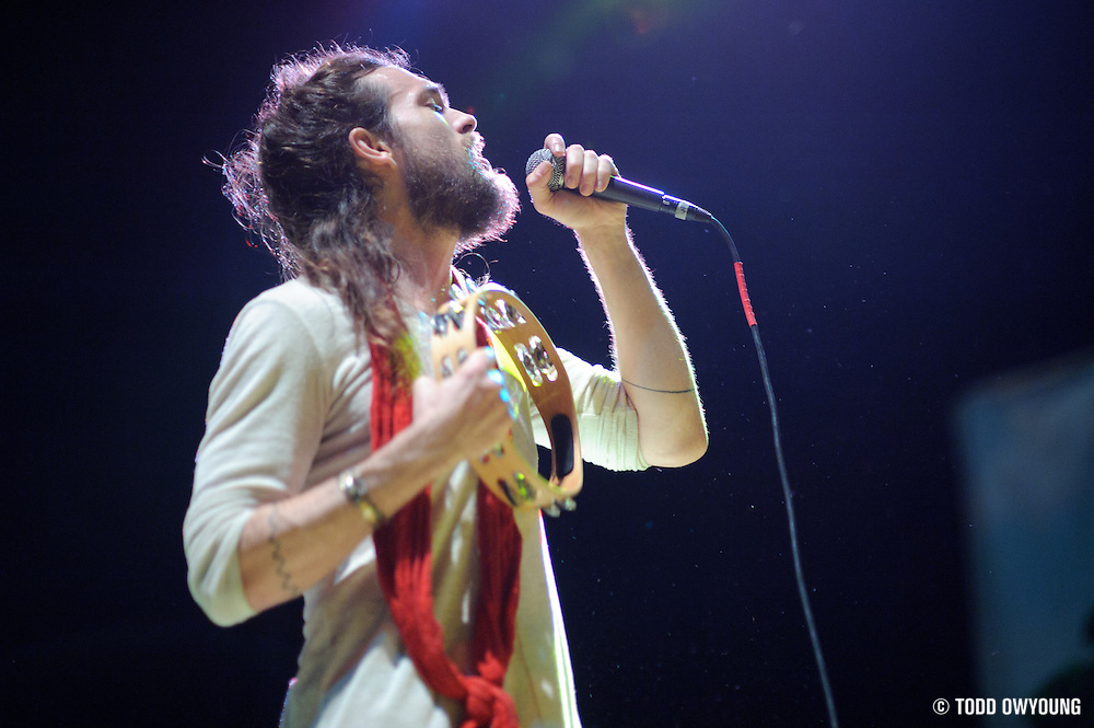 Photos of the L.A-based indie-folk band Edward Sharpe and the Magnetic Zeros performing at the Pageant in St. Louis on June 14, 2010.