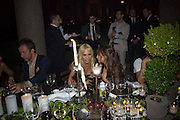 DONATELLA VERSACE, Luomo Vogue 40th Anniversary dinner. Palazzo Litta. Milan. 22 June 2008 *** Local Caption *** -DO NOT ARCHIVE-© Copyright Photograph by Dafydd Jones. 248 Clapham Rd. London SW9 0PZ. Tel 0207 820 0771. www.dafjones.com.