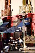 Cafe in La Boca, Buenos Aires, Argentina