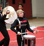 Percussion units compete at the Dutchtown Show in Geismar, La. .photo by Crystal LoGiudice