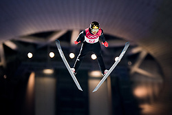 February 8, 2018 - Pyeongchang, SOUTH KOREA - 180208 Robert Johansson of Norway competes during the Men's Normal Hill Individual Qualification ahead of the 2018 Winter Olympics on February 8, 2018 in Pyeongchang..Photo: Jon Olav Nesvold / BILDBYRN / kod JE / 160146 (Credit Image: © Jon Olav Nesvold/Bildbyran via ZUMA Press)