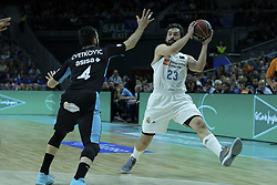 April 29, 2018 - Madrid, Madrid, Spain - SERGIO LLULL  of Real Madrid in action during a Liga Endesa Basketball game between Estudiantes and Real Madrid, at the Palacio de los Deportes, in Madrid, Spain, 29 April 2018. (Credit Image: © Oscar Gonzalez/NurPhoto via ZUMA Press)