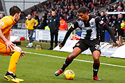 Ethan Erhahon of St Mirren on the ball during the Ladbrokes Scottish Premiership match between St Mirren and Livingston at the Simple Digital Arena, Paisley, Scotland on 2nd March 2019.