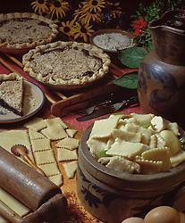 Pennsylvania dutch shoo fly pie chicken pot pie dough Country kitchen recipes