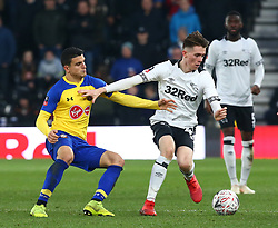January 5, 2019 - Derby, England, United Kingdom - Derby, England - 05 January, 2019.Derby County's Max Bird.during FA Cup 3rd Round between Derby County  and Southampton at Pride Park stadium , Derby, England on 05 Jan 2019. (Credit Image: © Action Foto Sport/NurPhoto via ZUMA Press)