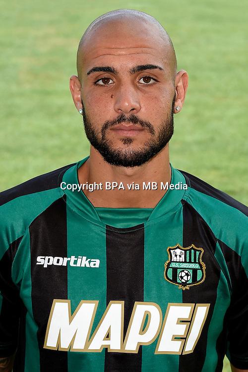 Italian League Serie A -2014-2015 / <br /> Simone Zaza ( Us Sassuolo Calcio )