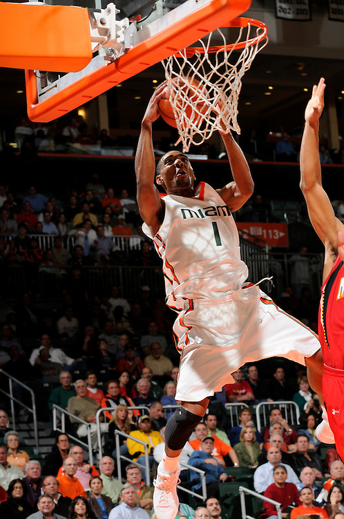 2009 University of Miami Men's Basketball vs Maryland
