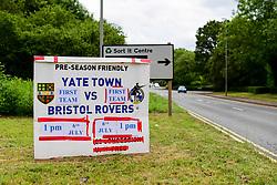 A general view prior to kick off - Ryan Hiscott/JMP - 06/07/2019 - SPORT - Yate Town - Yate, England - Yate Town v Bristol Rovers - Pre Season Friendly