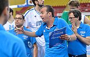 DESCRIZIONE : Skopje torneo internazionale Italia - Polonia<br /> GIOCATORE : Simone Pianigiani<br /> CATEGORIA : nazionale maschile senior A <br /> GARA : Skopje torneo internazionale Italia - Polonia <br /> DATA : 27/07/2014 <br /> AUTORE : Agenzia Ciamillo-Castoria