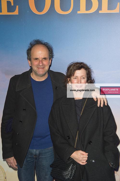 Lionel Abelanski  et sa femme Avant Première du film Le Prince Oublié Dimanche 2 Février 2020 Le Grand Rex Paris