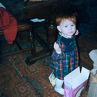 A collect photo of burns victim Alicia Gibson from Aylth, Perthshire..  In this photo Alicia is about 1 year old pictured before her accident<br /> Picture by Graeme Hart.<br /> Copyright Perthshire Picture Agency<br /> Tel: 01738 623350  Mobile: 07990 594431