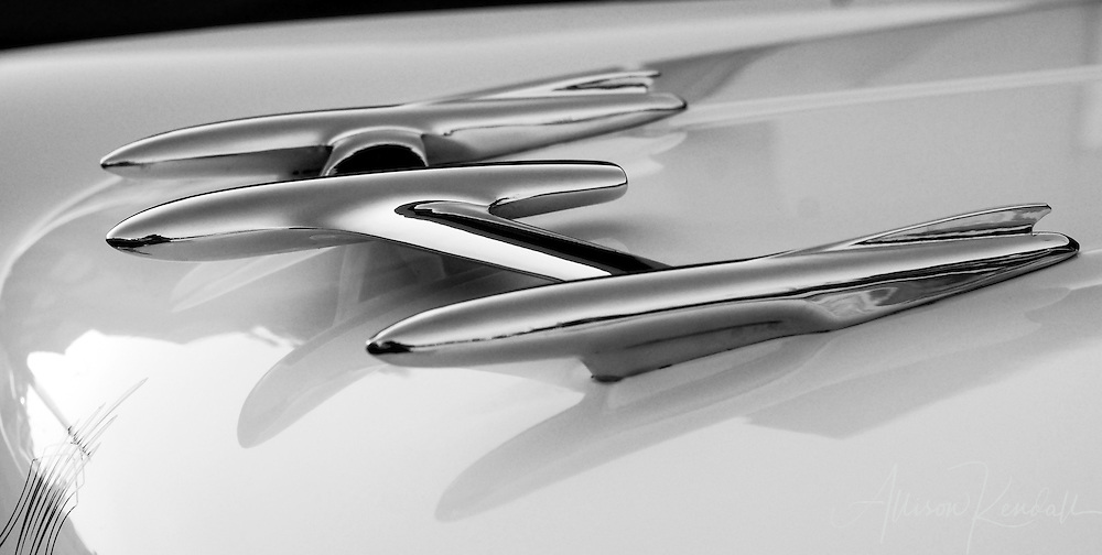 Selected black and white images of classic, vintage, and collectible automobiles