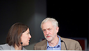 Jeremy Corbyn MP <br /> speech to the Labour Women's Conference, Brighton, Great Britain <br /> 26th September 2015 <br /> <br /> Kezia Digdale MSP <br /> Jeremy Corbyn <br /> <br /> <br /> Photograph by Elliott Franks <br /> Image licensed to Elliott Franks Photography Services