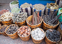 Various sea related souvenirs on street market