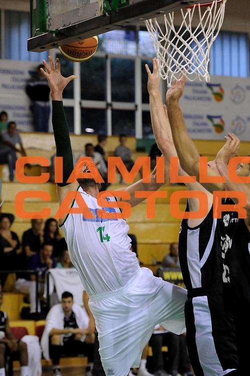 DESCRIZIONE : Porto Sant Elpidio Precampionato 2013-2014 Torneo Della Calzatura Sidigas Avellino Virtus Bologna<br /> GIOCATORE : Nikola Dragovic<br /> CATEGORIA : tiro penetrazione<br /> SQUADRA : Sidigas Avellino<br /> EVENTO : Precampionato Lega A1 2013-2014<br /> GARA : Sidigas Avellino Virtus Bologna<br /> DATA : 29/09/2013<br /> SPORT : Pallacanestro<br /> AUTORE : Agenzia Ciamillo-Castoria/C. De Massis<br /> Galleria : Lega Basket A1 2013-2014<br /> Fotonotizia : Porto Sant Elpidio Precampionato 2013-2014 Torneo Della Calzatura Sidigas Avellino Virtus Bologna<br /> Predefinita :