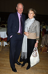 CHARLES & PATTI PALMER-TOMKINSON at a quiz night in aid of RAPt ( The Rehabilitation for Addicted Prisoners Trust) held at Hammersmith Town Hall, King Street, London W6 on 14th November 2005.<br />