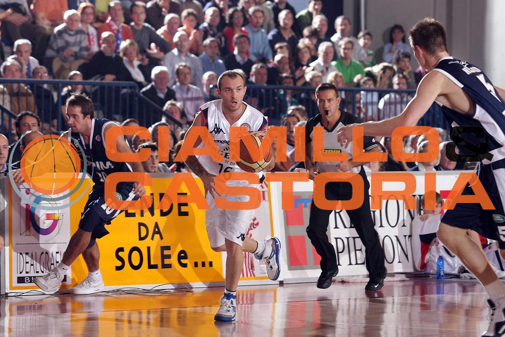 DESCRIZIONE : Biella Lega A1 2007-08 Angelico Biella Upim Fortitudo Bologna<br /> GIOCATORE : Valerio Spinelli<br /> SQUADRA : Angelico Biella<br /> EVENTO : Campionato Lega A1 2007-2008<br /> GARA : Angelico Biella Upim Fortitudo Bologna<br /> DATA : 11/11/2007<br /> CATEGORIA : Palleggio<br /> SPORT : Pallacanestro<br /> AUTORE : Agenzia Ciamillo-Castoria/S.Ceretti<br /> Galleria : Lega Basket A1 2007-2008<br /> Fotonotizia : Biella Campionato Italiano Lega A1 2007-2008 Angelico Biella Upim Fortitudo Bologna<br /> Predefinita :