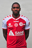 Christopher Glombard - 21.10.2014 - Photo officielle Reims - Ligue 1 2014/2015<br /> Photo : Philippe Le Brech / Icon Sport