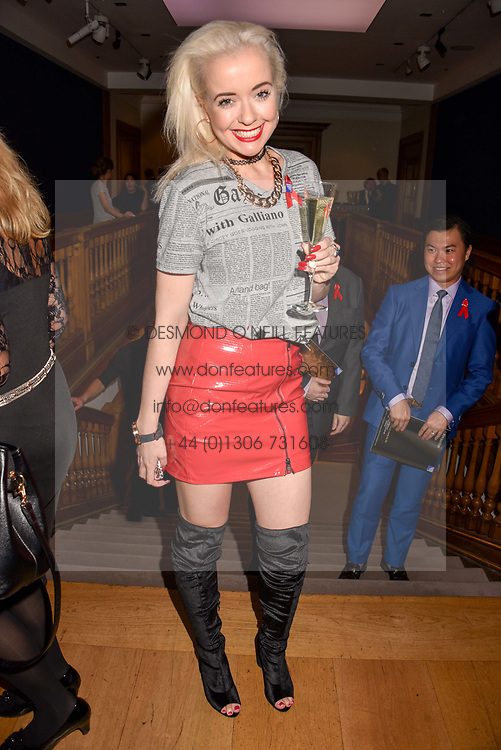 Lemon at the Terence Higgins Trust Auction 2017 at Christie's, 8 King Street, St.James's, London England. 11 April 2017.