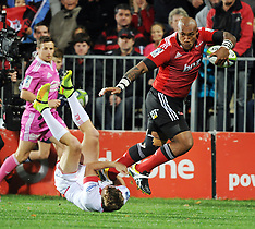 Christchurch-Super Rugby, Crusaders v Reds