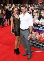 Una Healy; Ben Foden The Inbetweeners Movie world premiere, Vue Cinema, Leicester Square, London, UK, 16 August 2011:  Contact: Rich@Piqtured.com +44(0)7941 079620 (Picture by Richard Goldschmidt)